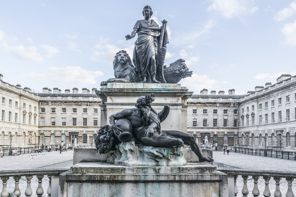 Somerset House- statue