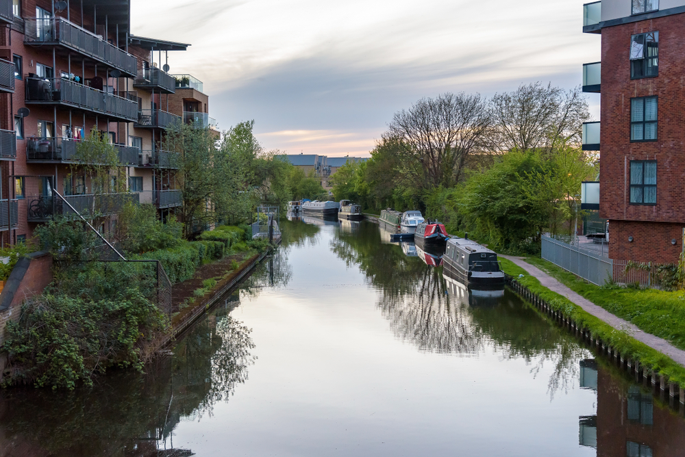 Grand Union Canal in West Drayton